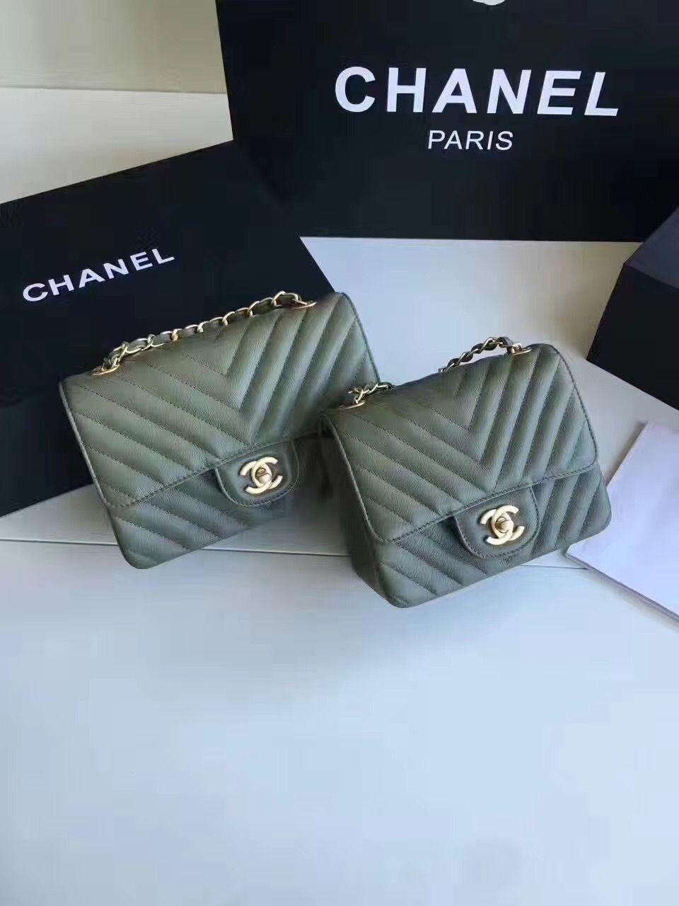 9052fc4b82fc Chanel 2.55 woman flap bag small 20cm & mini 17cm original leather ...