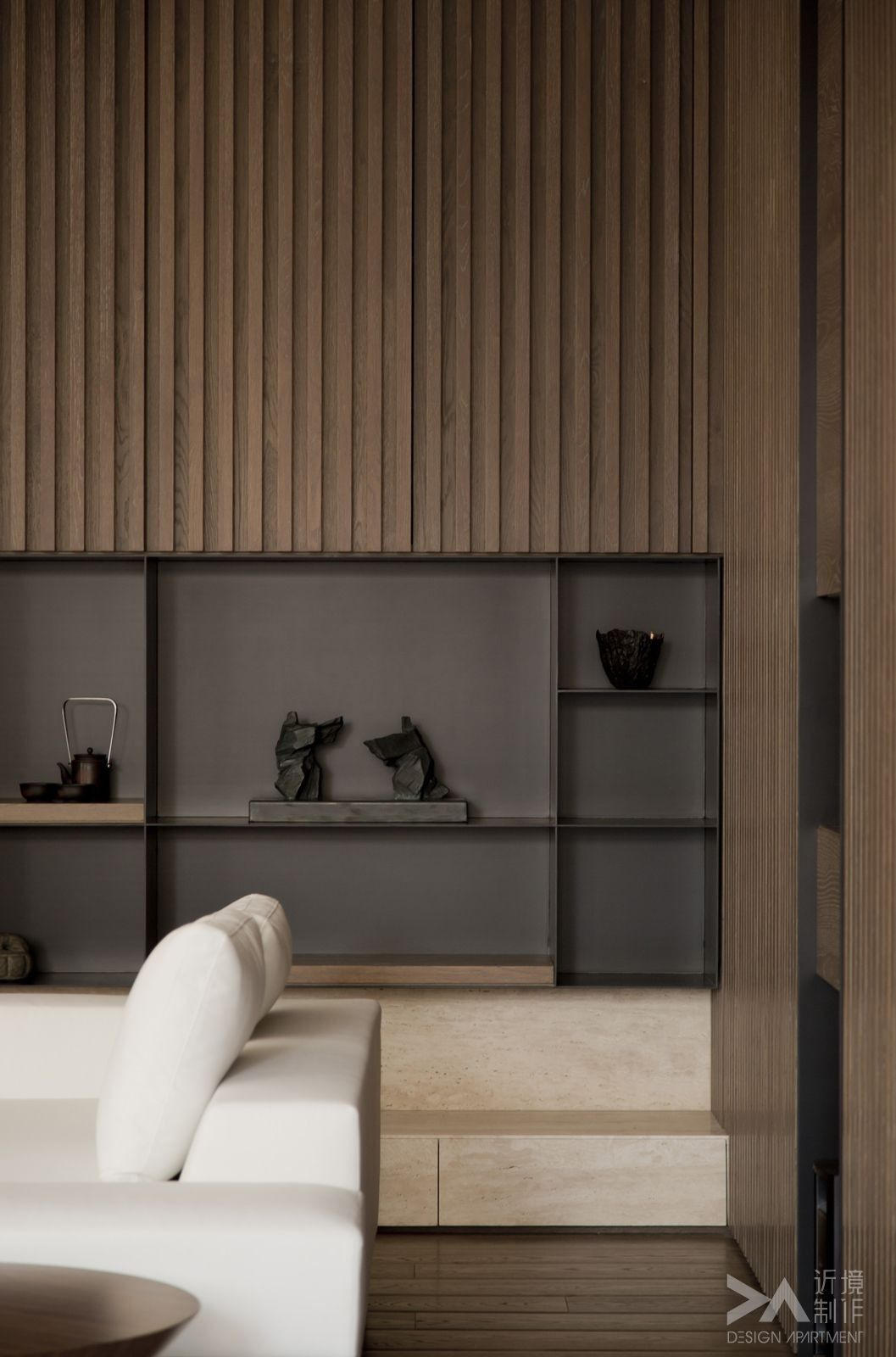 modern interieurontwerp interieurarchitectuur moderne interieurs eigentijds interieur boekenplank ontwerp bruin