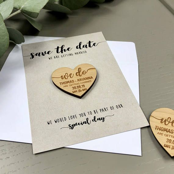 Save the date magnet with cards personalised save the date wedding save the date magnet with cards personalised save the date wedding invitation card stopboris Gallery