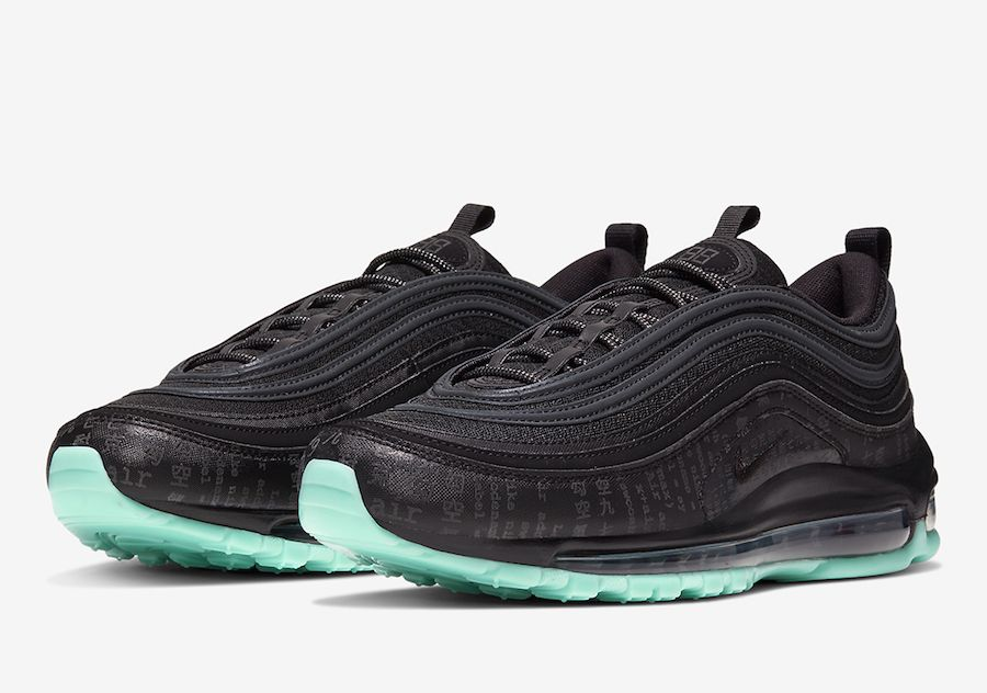 Nike Air Max 97 Green Glow 921826 017 Release Date Sbd In 2020 Nike Air Max Air Max 97 Nike