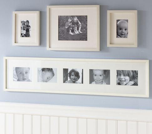 Elegant Picture Frame Layout On Wall