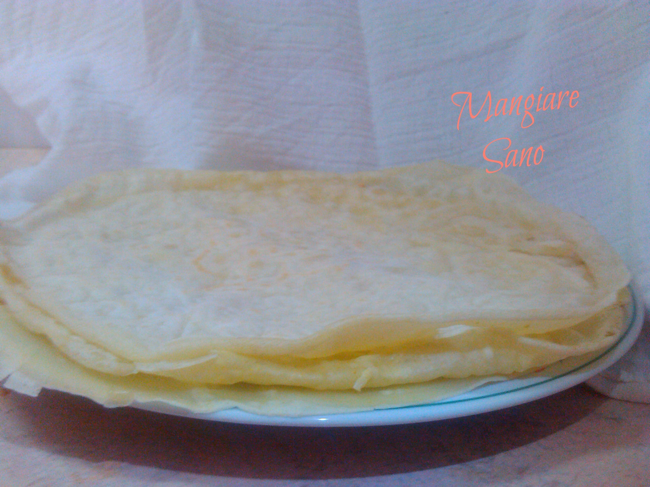 Crepes salate light