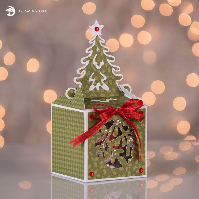 Tree Ornament Box Svg Christmas Tree Box Holiday Gift Box Christmas Svg Files