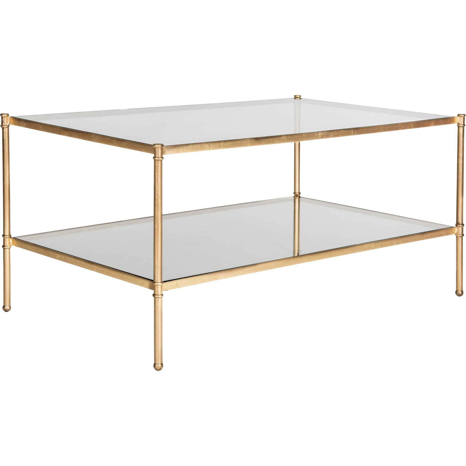 Asaf Coffee Table Antique Gold Coffee Table Mirrored Coffee Tables Coffee Table With Storage [ 1920 x 1920 Pixel ]