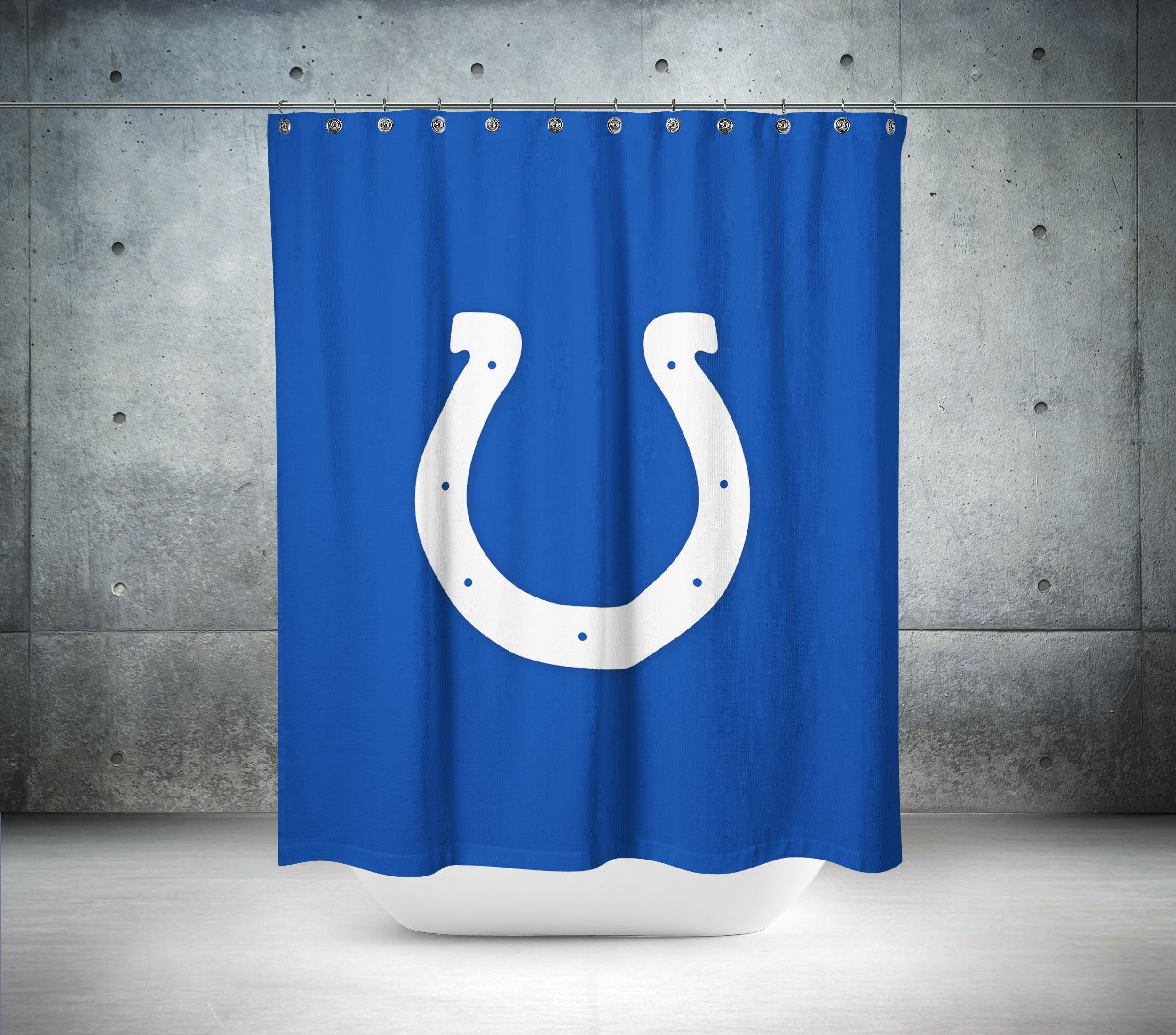Indianapolis Colts Nfl Shower Curtain Curtains