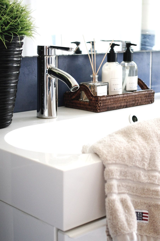 Bathroom Zara Home Newport Rattan Tray Lexington Wohnung Badezimmer Haus Zubehor Dekoration Badezimmer