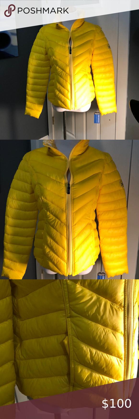 Women S Nautica Reversible Puffer Jacket Puffer Jacket Women Clothes Design Coats Jackets Women [ 1740 x 580 Pixel ]