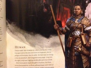 "Things We Saw Today: The Illustration For ""Human"" In D&D Is Awesome"