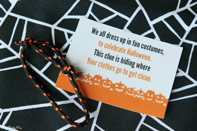 Free Printable Halloween Scavenger Hunt - Play.Party.Pin | Writing ...