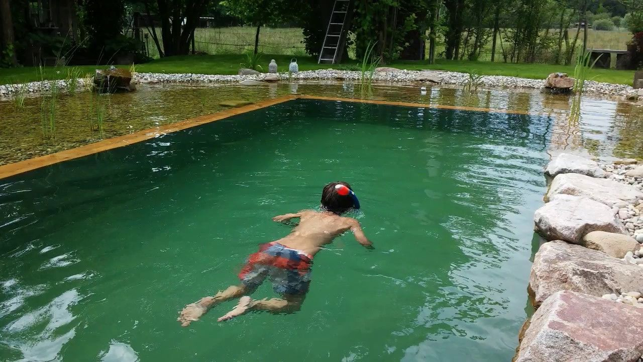Schwimmteich selber bauen - Teil 1 Natural Pool - Organic Pool selfbuild DIY # Part 1 of 4