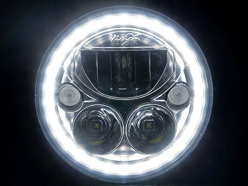 vision x lighting 7 vortex led headlamp kit halo ring for 07 vision x lighting 7 vortex led headlamp kit halo ring for 07 14