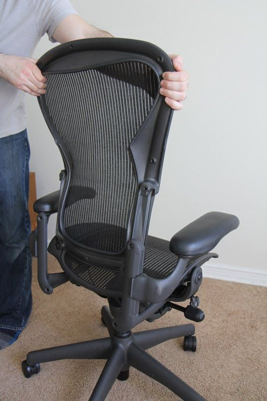 How To Refurbish A Herman Miller Aeron Task Chair Task Chair Chair Refurbishing