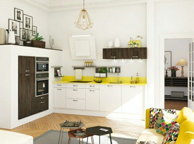 Idée Meuble Mi Hauteur Cuisine Lanmau Pinterest Hauteur - Hauteur meuble cuisine pour idees de deco de cuisine