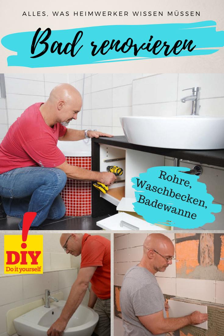 Bad Renovieren Anleitung Zur Komplett Sanierung Bad Renovieren Renovieren Sanierung