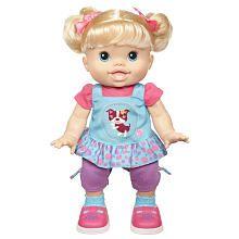 Baby Alive Wanna Walk Blonde My Child Doll Baby Alive Dolls Baby Dolls