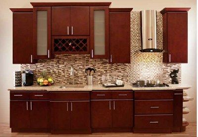 19 best ideas about Design - Contemporary Cherry Cabinets on ...