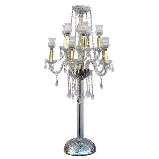 CRYSTAL CANDELABRA FLOOR LAMP   DECORARTES DLOBO   Pinterest ...