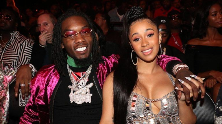 Offset Crashes Cardi B's Live Show To Apologize To Her