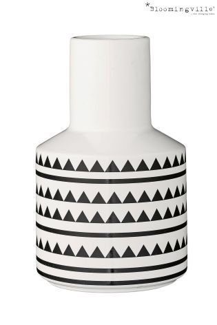 Buy Bloomingville Large Geo Ceramic Vase From The Next Uk Online