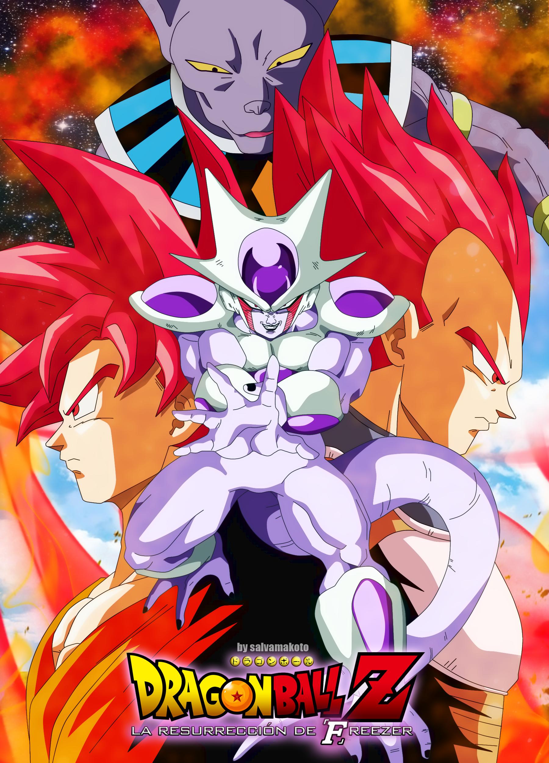 Dragon Ball Resurrection De Freezer : dragon, resurrection, freezer, Resurreccion, Freezer, Dragon, Wallpapers,, Anime, Super,, Super, Manga