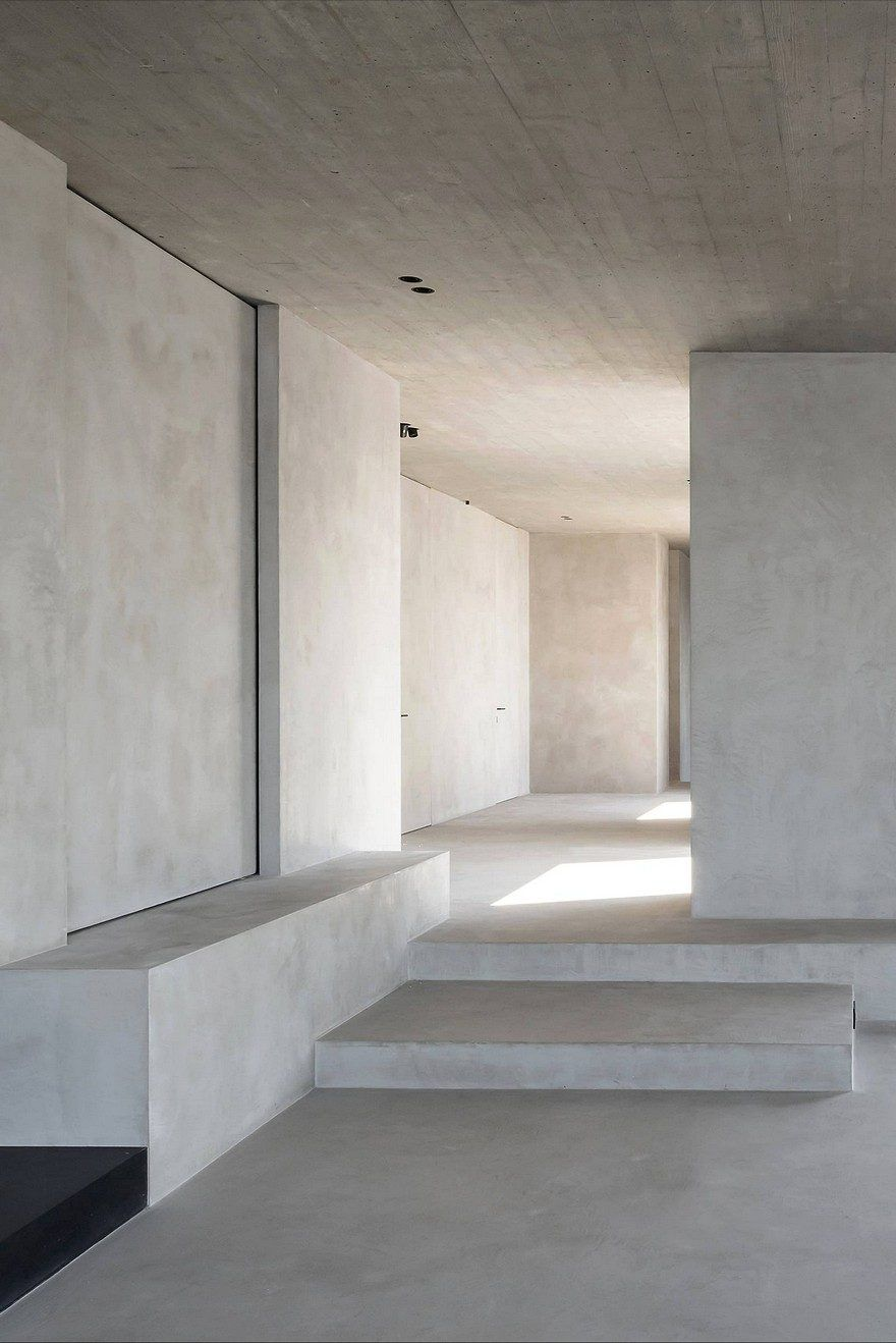 Beton Penthouse, Inspiriert durch die Kubistische Kunst und Arte Povera Bewegung #arquitectonico