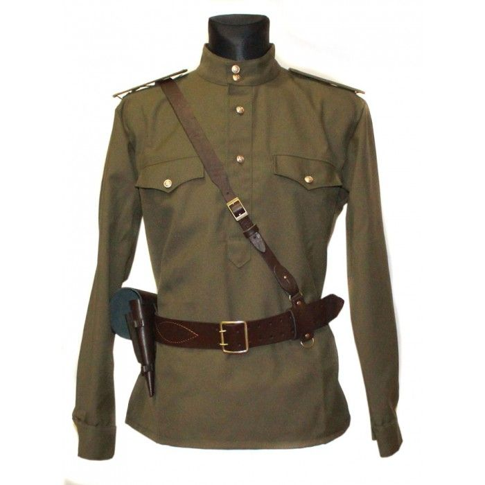 Soviet / Russian Army military uniform - Gimnasterka jacket ...