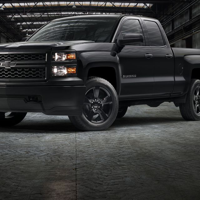 Black Out Work Truck Is Latest Chevy Silverado Special Chevy Silverado Chevrolet Silverado 2015 Chevrolet