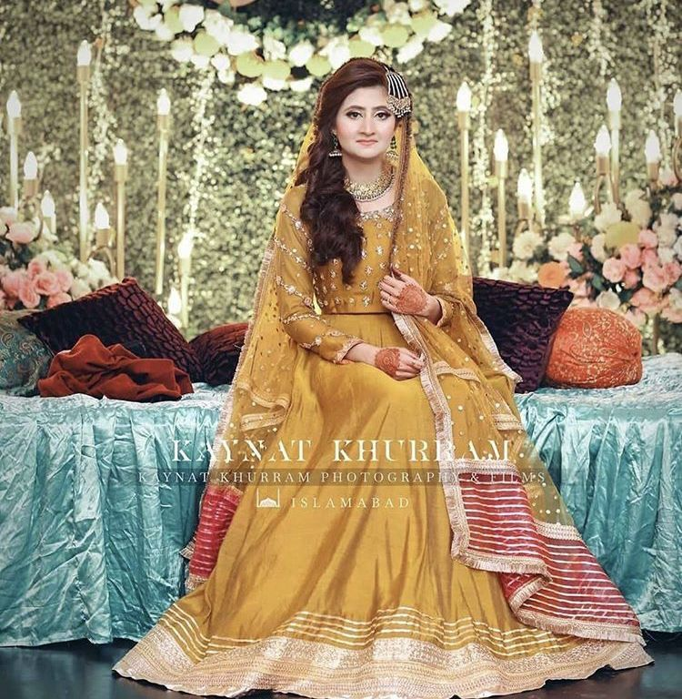 Pin By Sajda On Mayoun Mehndi In 2020 Pakistani Wedding Dresses Evening Dress Fashion Lehnga Dress,Guest Ladies Dresses For Weddings