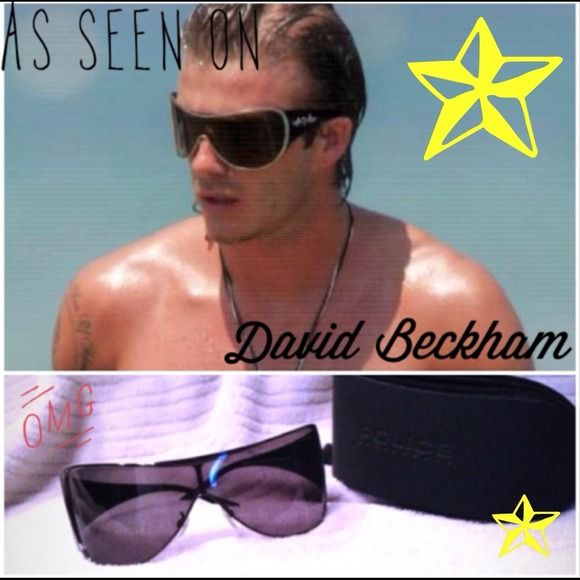 5ff9716132 Unisex Police Sunglasses with case 🚔 Unisex Police sunglasses - as seen on  David Beckham -