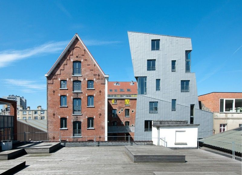 Cheval noir aging brewery redeveloped into artistic residences with