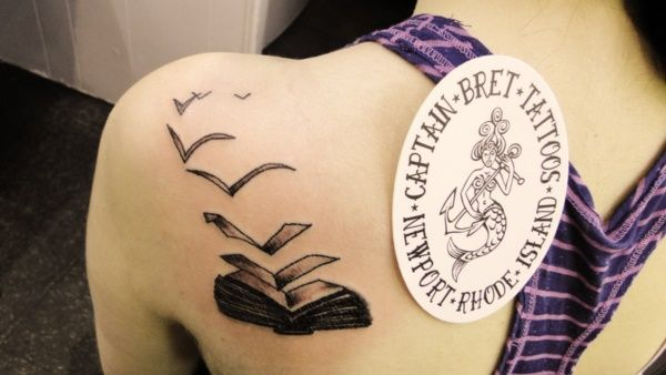 50 Attractive Literary Tattoos For Book Lovers Literary Tattoos Book Tattoo Book Lover Tattoo