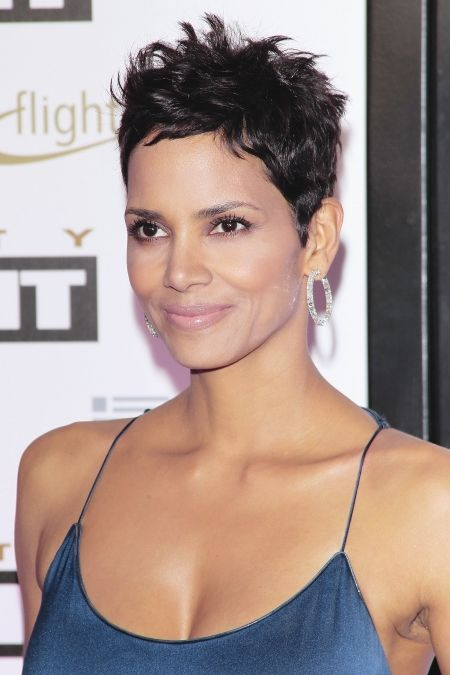 Halle berry halle - Coupe courte halle berry ...