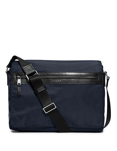 e8df168c000c Michael Kors Kent Larger Messenger Bag Men's Indigo | Products ...