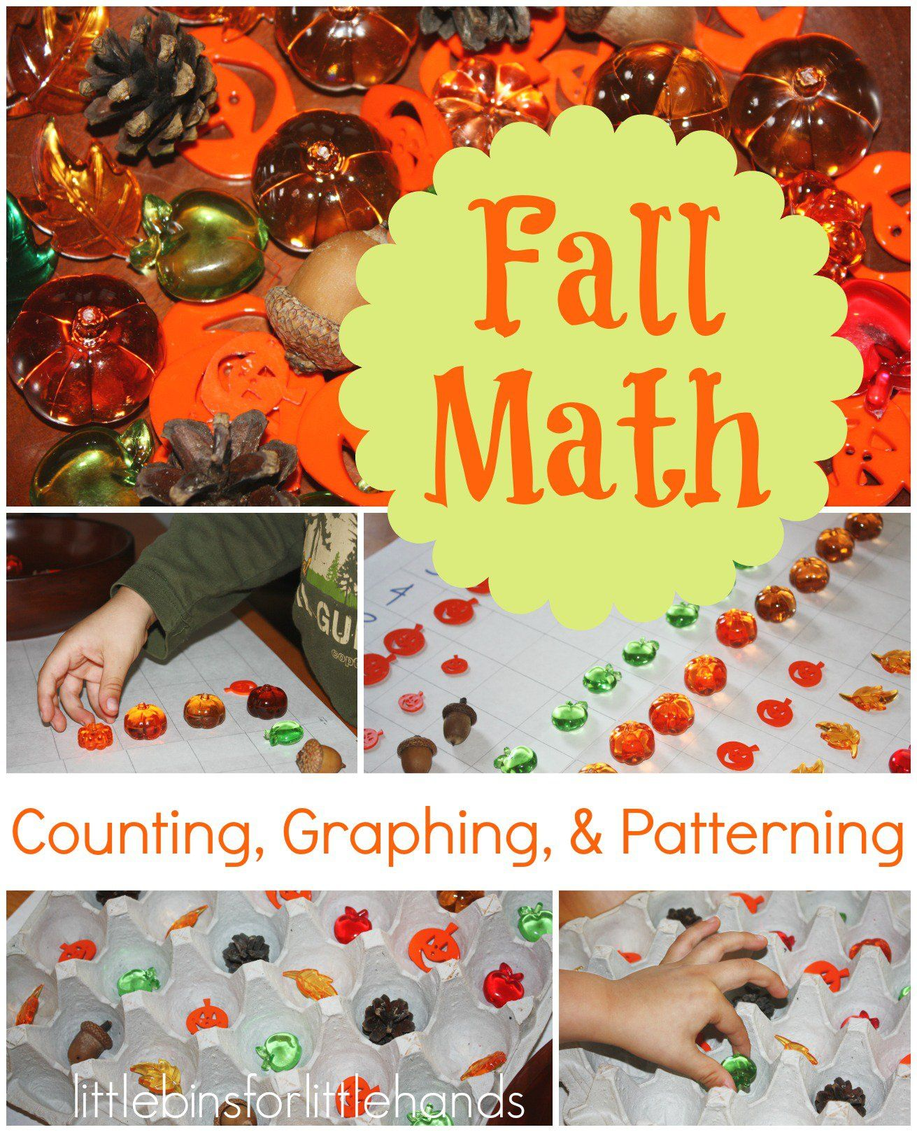 Simple Fall Early Learning Graphing