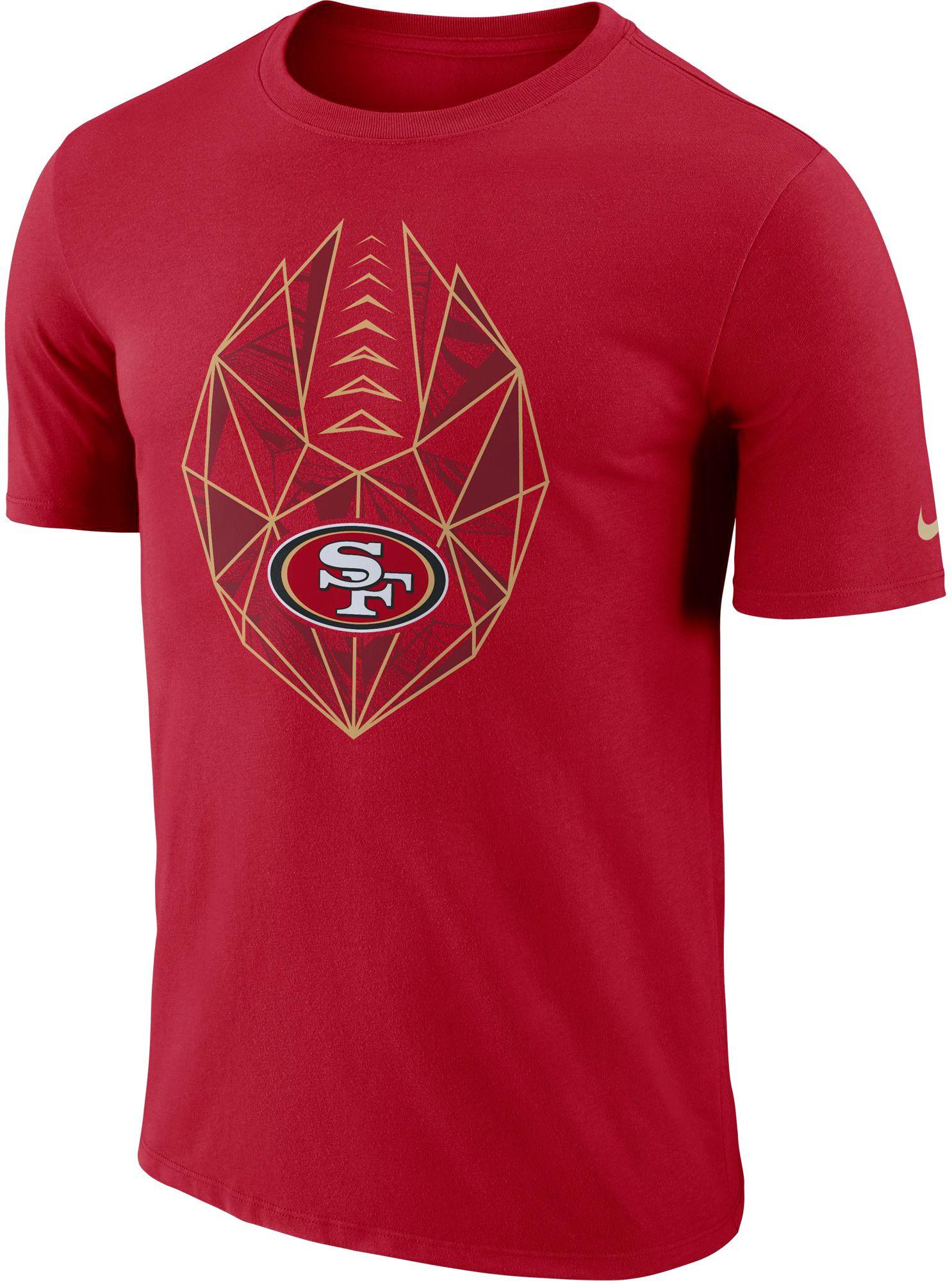 Wholesale Nike Men's San Francisco Diffraction Icon Performance Red T Shirt