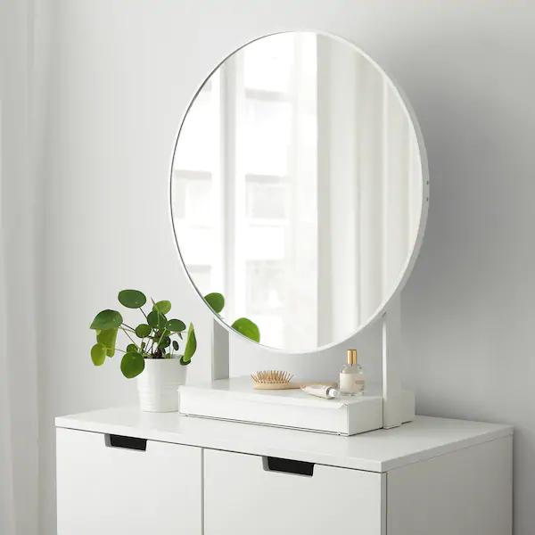 VENNESLA Tischspiegel weiß IKEA Deutschland