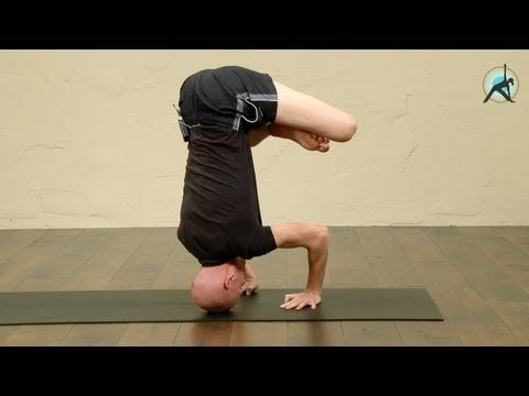 flying crow to headstand advanced yoga with olav aarts