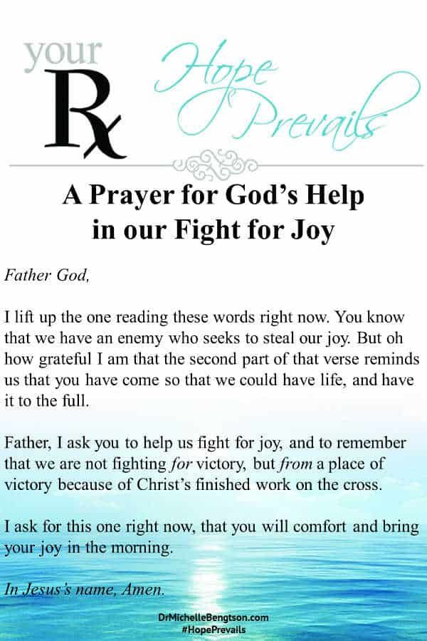 The Fight For Joy | Dr. Michelle Bengtson