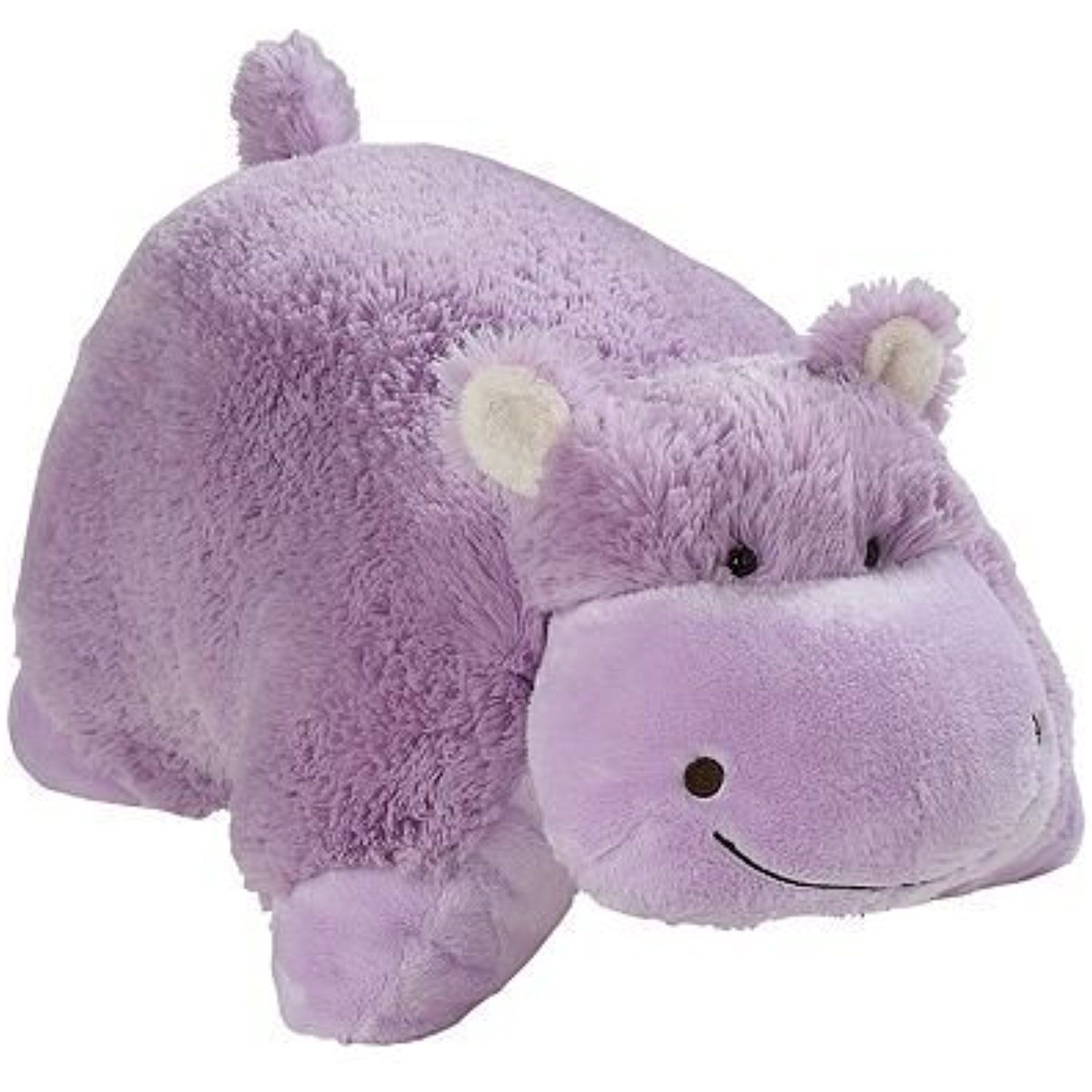 Peewee Hippo Pillow Pets Purple 11 Read More At The Image Link This Is An Affiliate Link Plushpillows Animal Pillows Huggable Stuffed Animals