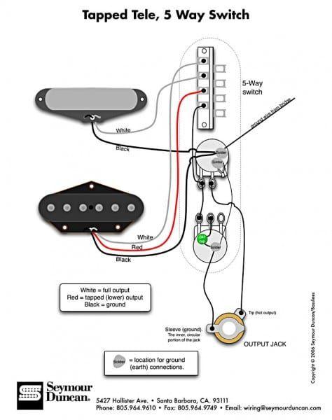 Seymour Duncan Wiring 5 Way Switch