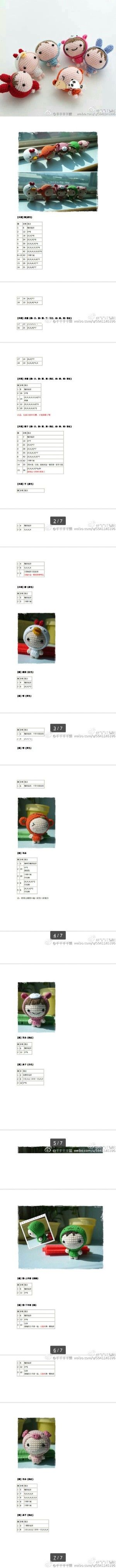 Pin von Callie D auf Amigurumi Crochet & Toys #3 | Pinterest ...