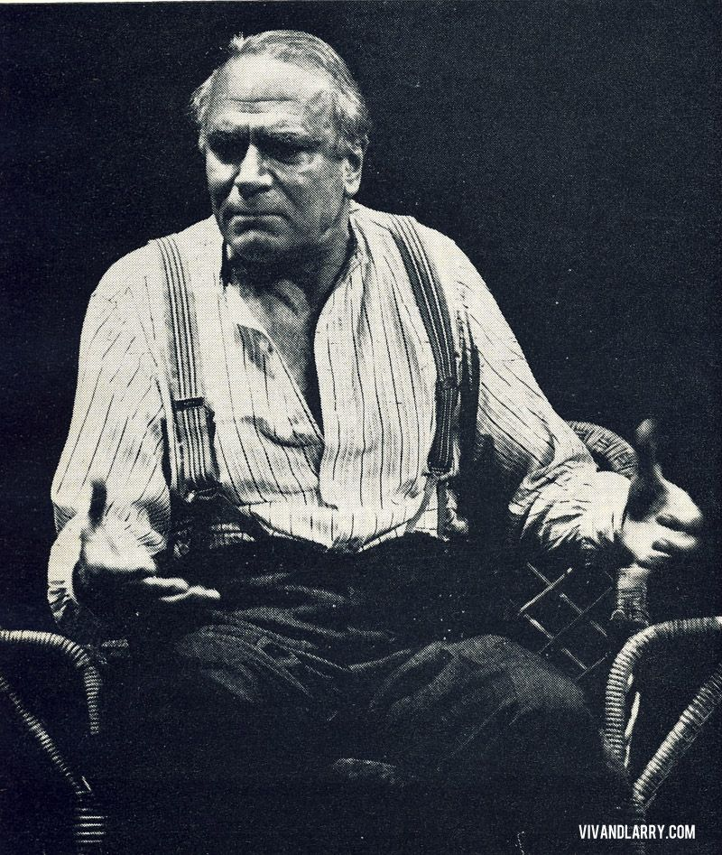 Laurence Olivier In Long Day S Journey Into Night 1973 With