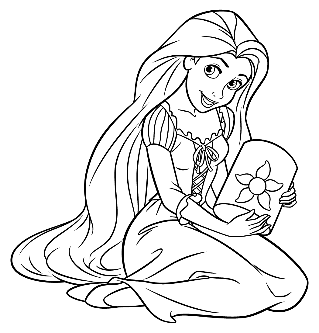 Free Rapunzel Worksheet