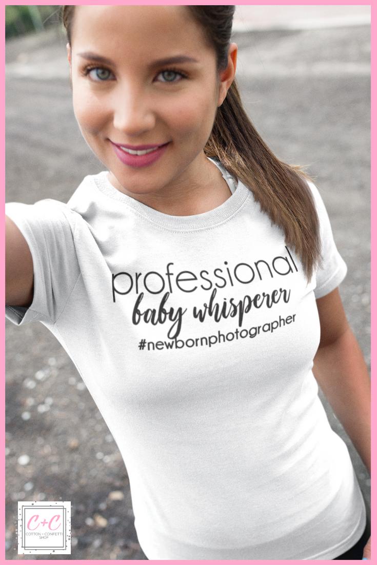 40ce150203eae Photographer Gift - Newborn photographer - Funny Photography Shirt ...