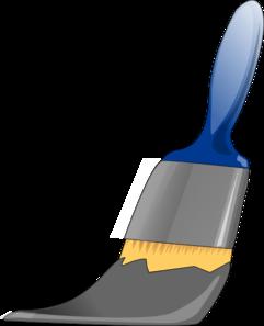 Paintbrush Grey Clip Art Vector Clip Art Online Royalty Free Public Domain Clip Art Online Art Paint Brushes