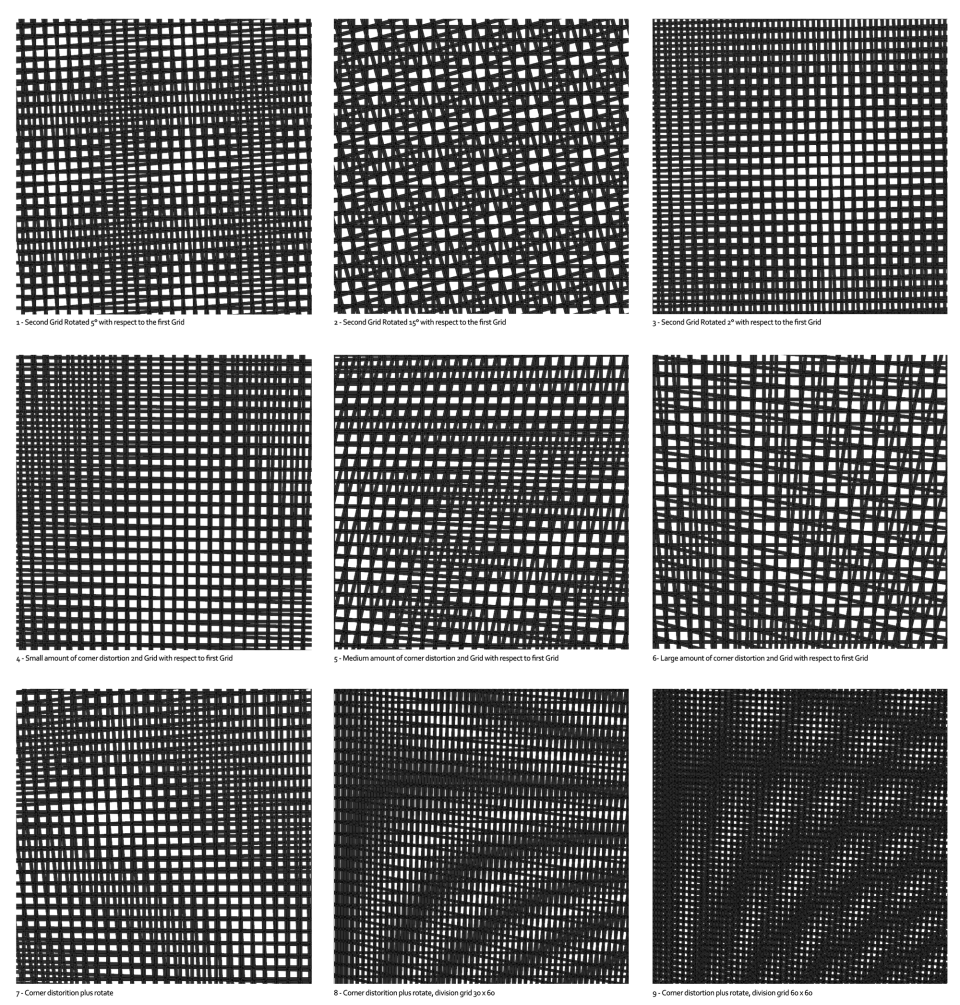 Abstract Seamless Moire Pattern With Zigzag 8