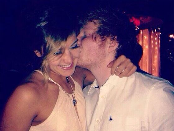 Is ed sheeran dating claire donald