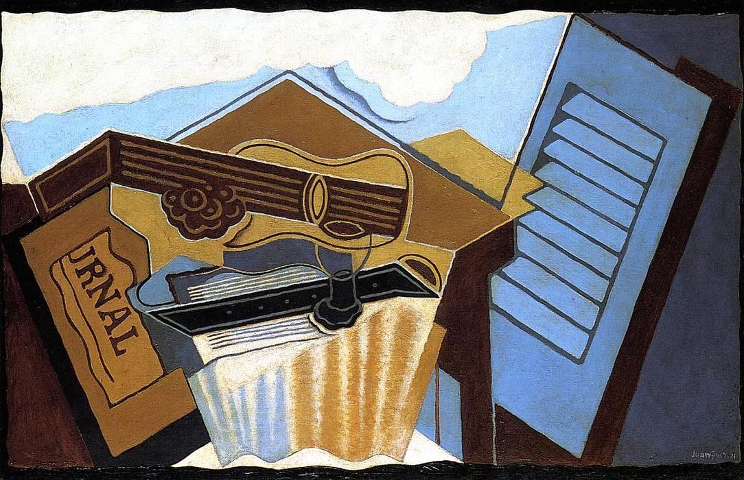 Juan Gris The Cloud Cubism, Art, Canvas art prints