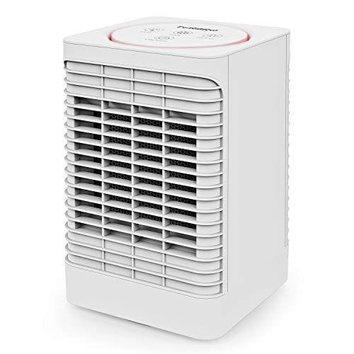 Turbro Neon Nw10 Electric Space Heater Indoor Etl Certified Ptc Ceramic Heater Fan Forced Heater With 3 Led Lighting In Ceramic Heater Space Heater Heater Fan