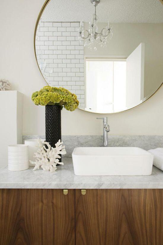 Oversized Bathroom Mirror Interior Design Studio Anatomy
